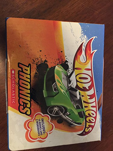 Hot Wheels Phonics Scholastic Book Set (Hot Wheels)
