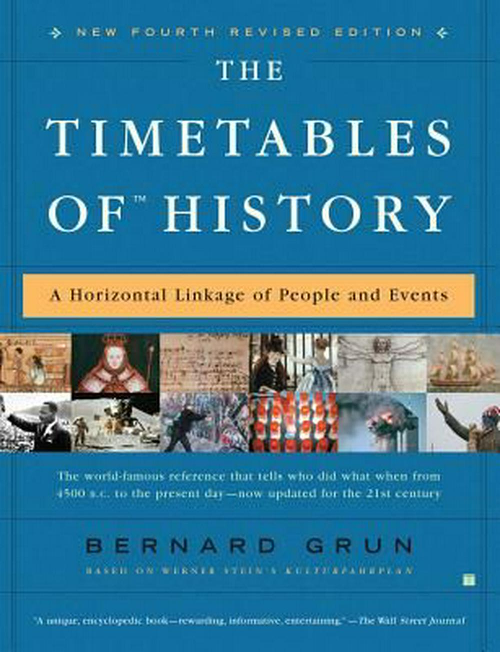 The Timetables of History