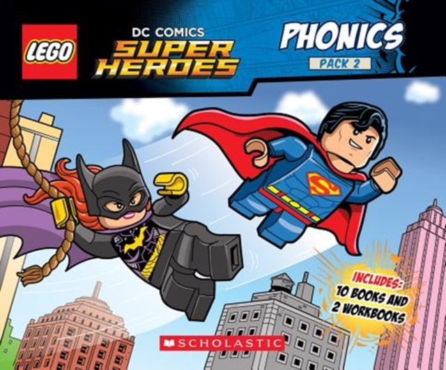 Phonics Boxed Set #2 (Lego DC Super Heroes)Lego DC Super Heroes