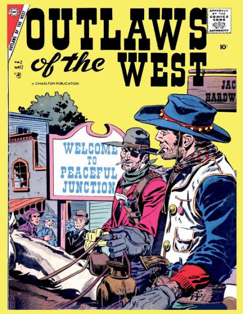 Outlaws of the West # 12Golden Age Comics Wild West Western