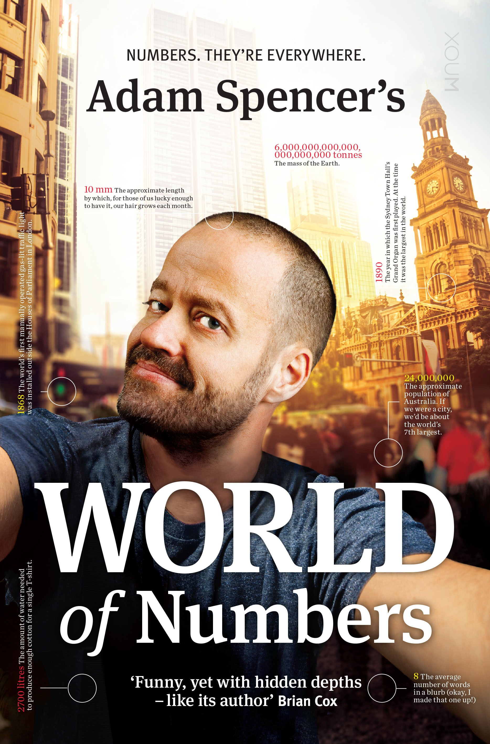 Adam Spencer's World of Numbers by Adam Spencer, ISBN: 9781921134869