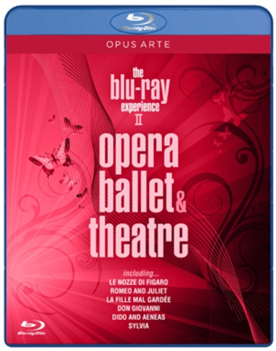 The Blu Ray Experience, Vol. 2: Opera, Ballet, Theatre (Le Nozze di Figaro/Romeo and Juliet/La Fille mal Gardee/Don Giovanno/Dido and Aeneas/Sylvia) [Blu-ray]