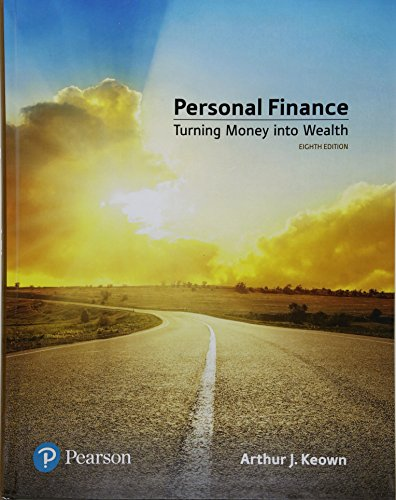 Personal Finance Plus Mylab Finance with Pearson Etext -- Access Card Package by Arthur J Keown, ISBN: 9780134830155