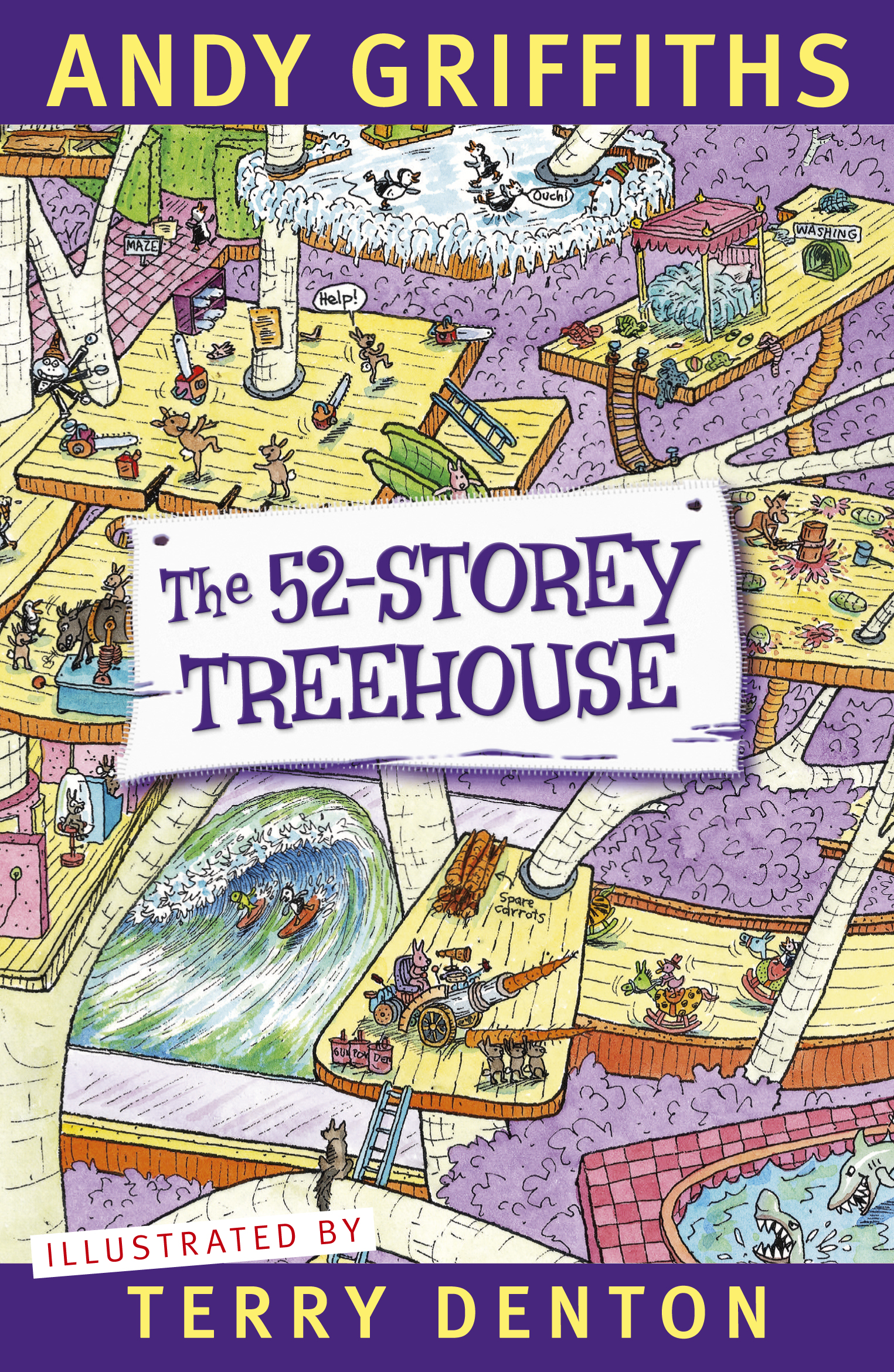 The 52-Storey Treehouse by Andy Griffiths, ISBN: 9781742614212