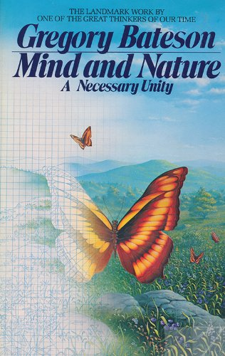 mind and nature This is a treatise on epistemology which is at once an argument against traditional muddleheaded thinking (mind/body dualism) and a thesis that biological evolution and creative thought are similar processes.