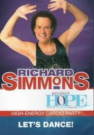 Richard Simmons Project Hope: High Energy Cardio Party- Let's Dance DVD - Region 0 Worldwide