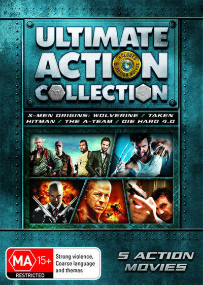 Ultimate Action Collection (X-Men OriginsWolverine / Taken / Hitman / The A-Team / Die H...