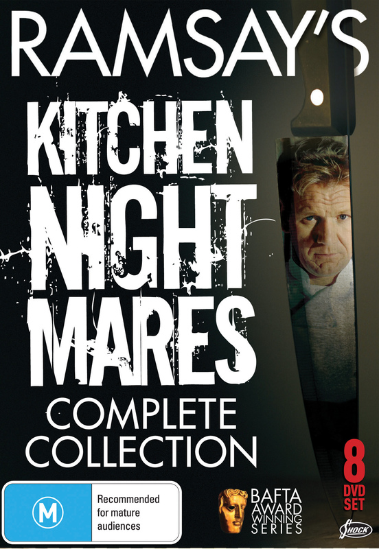 Ramsay's Kitchen Nightmares - Complete Collection - 8-DVD Box Set ( Kitchen Nightmares ) [ NON-USA FORMAT, PAL, Reg.0 Import - Australia ]