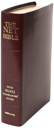 Net Bible - Full Notes Edition - Burgundy Bonded Leather