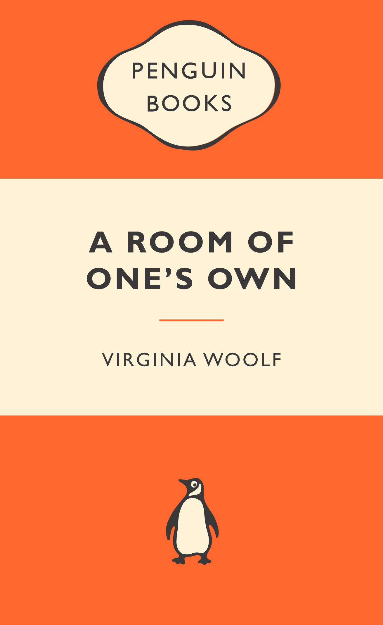 A Room of One's Own: Popular Penguins by Virginia Woolf, ISBN: 9780141044880