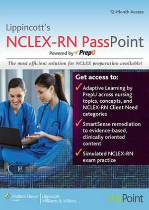 Lww NCLEX-RN Passpoint; Lww Docucare One-Year Access; Plus Lww Corusepoint for Nursing Concepts Package (Course Point)