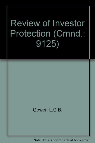 Review of Investor Protection (Cmnd.: 9125)