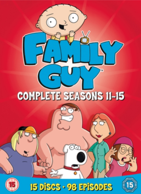 Family Guy: Complete Seasons 11-15 [DVD]