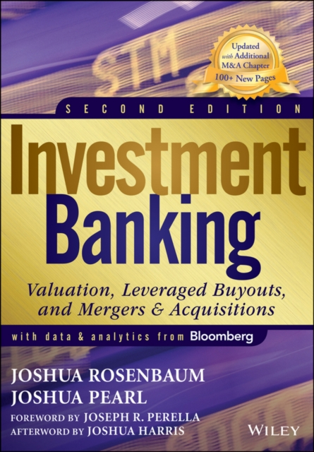 Cover Art for Investment Banking, ISBN: 9781118656211