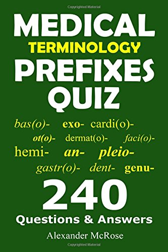Booko: Comparing prices for Medical Terminology Prefixes