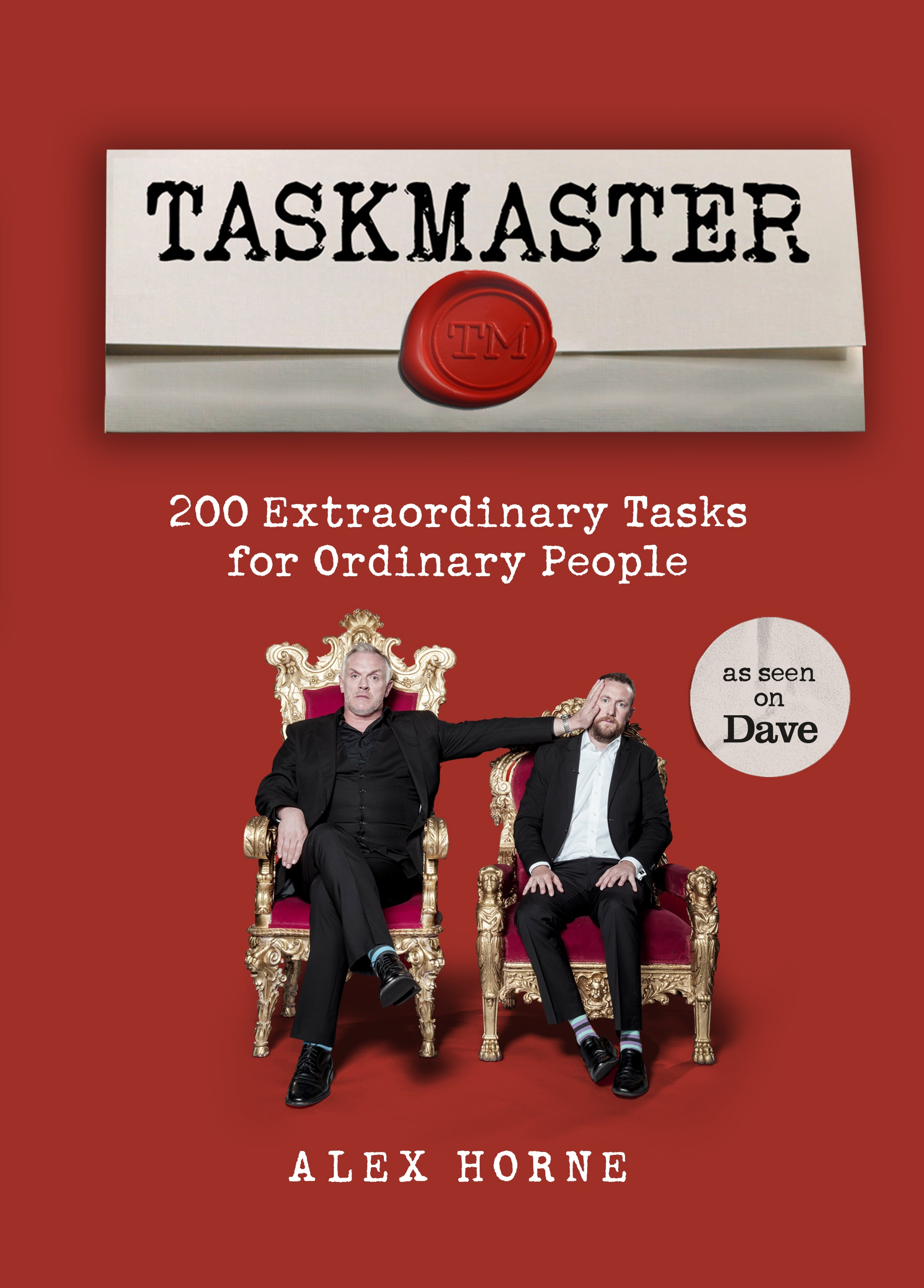 Taskmaster by Alex Horne, ISBN: 9781785943584