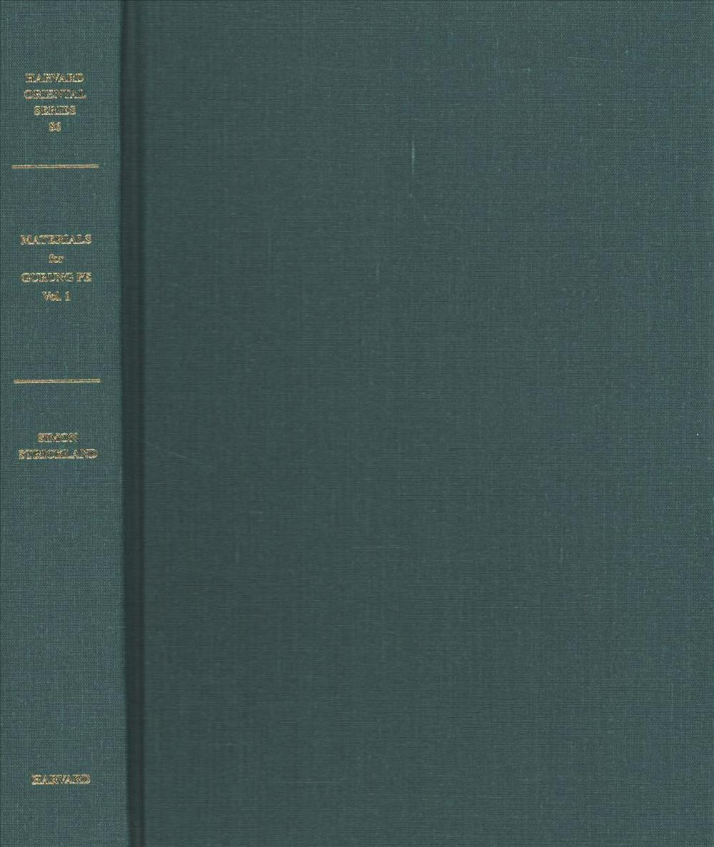 Materials for the Study of Gurung Pe. Volumes I and IIHarvard Oriental Series