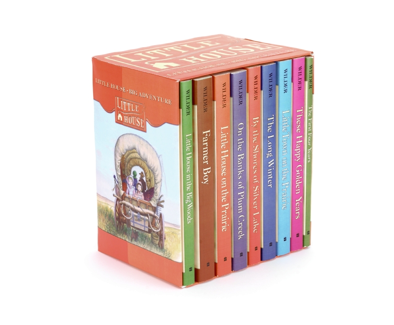Little House Complete 9-Book Box Set by Laura Ingalls Wilder, Garth Williams, ISBN: 9780064400404