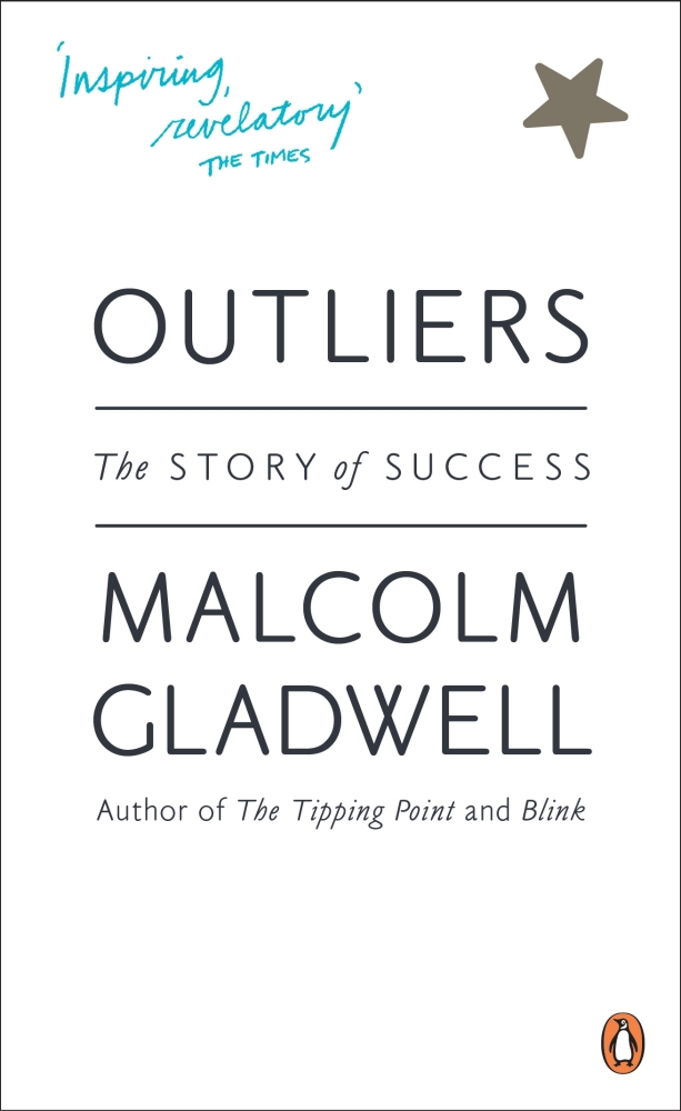 Outliers by Malcolm Gladwell, ISBN: 9780141043029