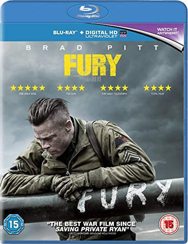 Fury - Limited Edition Booklet (Exclusive to Amazon.co.uk) [Blu-ray]