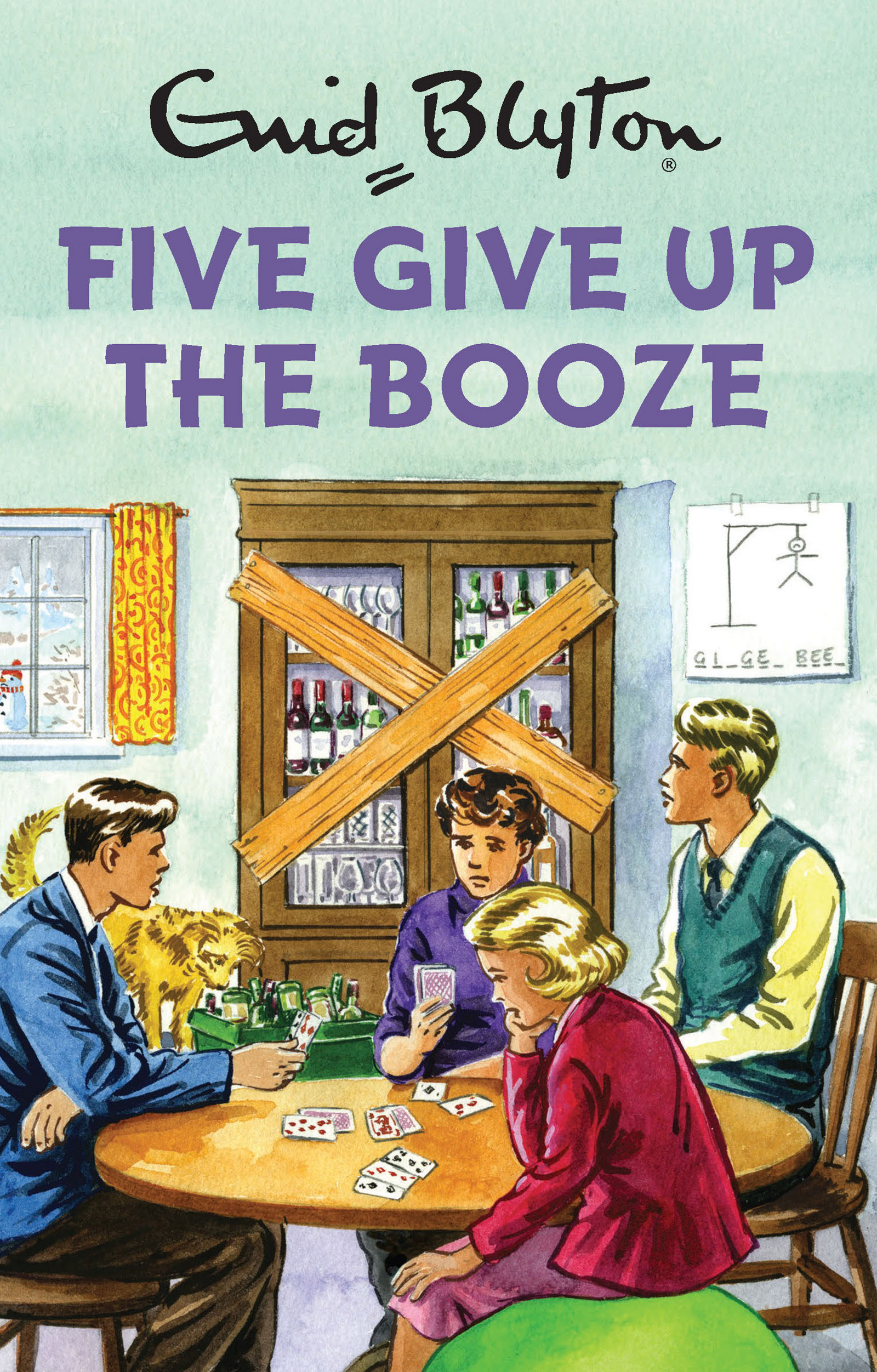 Five Give Up the Booze (Enid Blyton for Grown Ups) by Bruno Vincent, ISBN: 9781786482266