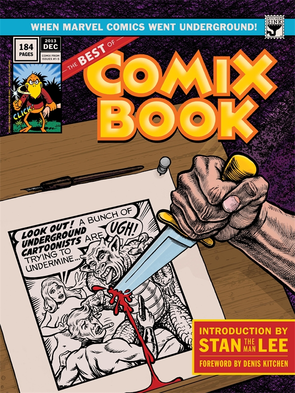 The Best Of Comix Book by Various, ISBN: 9781616552589