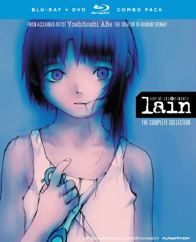 Serial Experiments Lain - Complete Series - Blu-ray/DVD Combo - Alt