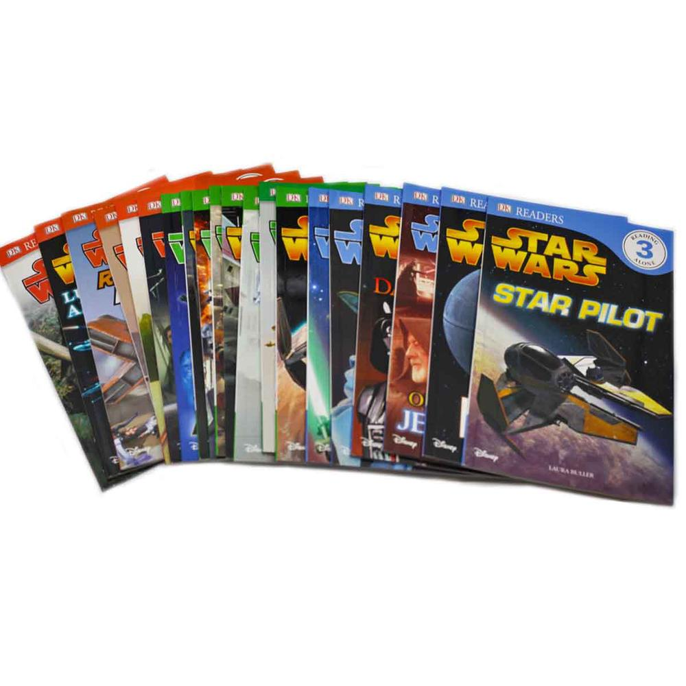 Star Wars: Ultimate Library Box Set with 20 Volumes for Early Readers Level 1-3 in Slipcase