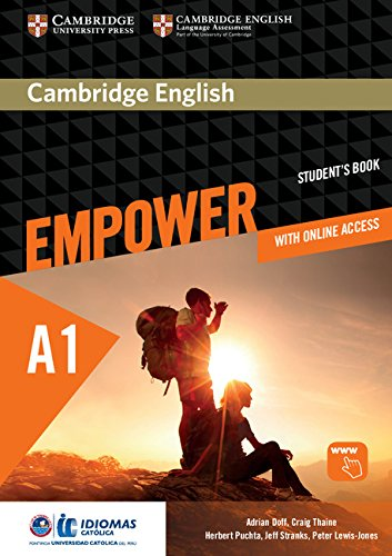Cambridge English Empower Starter/A1 Student's Book with Online Assessment and Practice, and Online Workbook Idiomas Catolica EditionStarter by Adrian Doff,Craig Thaine,Herbert Puchta,Jeff Stranks,Peter Lewis-Jones, ISBN: 9781108410328