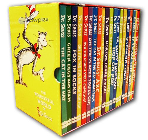 The Wonderful World of Dr. Seuss 20 Book Giftbox Set, RRP £99.99 - Includes: The Cat in the Hat, Fox in Socks, Horton Hears a Who, Dr Seuss on the Loose, How The Grinch Stole Christmas, The Cat in the Hat Comes Back, If I Ran The Zoo . by Dr Seuss, ISBN: 9780007872640