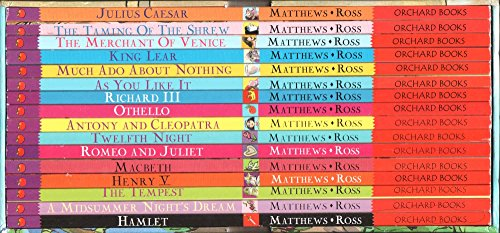 The Shakespeare Stories 16 Book Box Set Collection