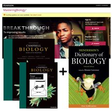 Value Pack Campbell Biology Australian and New Zealand edition + MasteringBiology with eText + Henderson's Dictionary of Biology