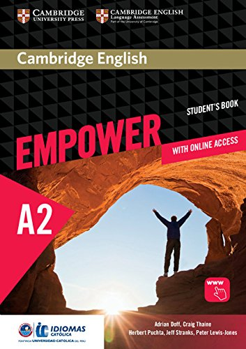 Cambridge English Empower Elementary/A2 Student's Book with Online Assessment and Practice, and Online Workbook Idiomas Catolica EditionElementary