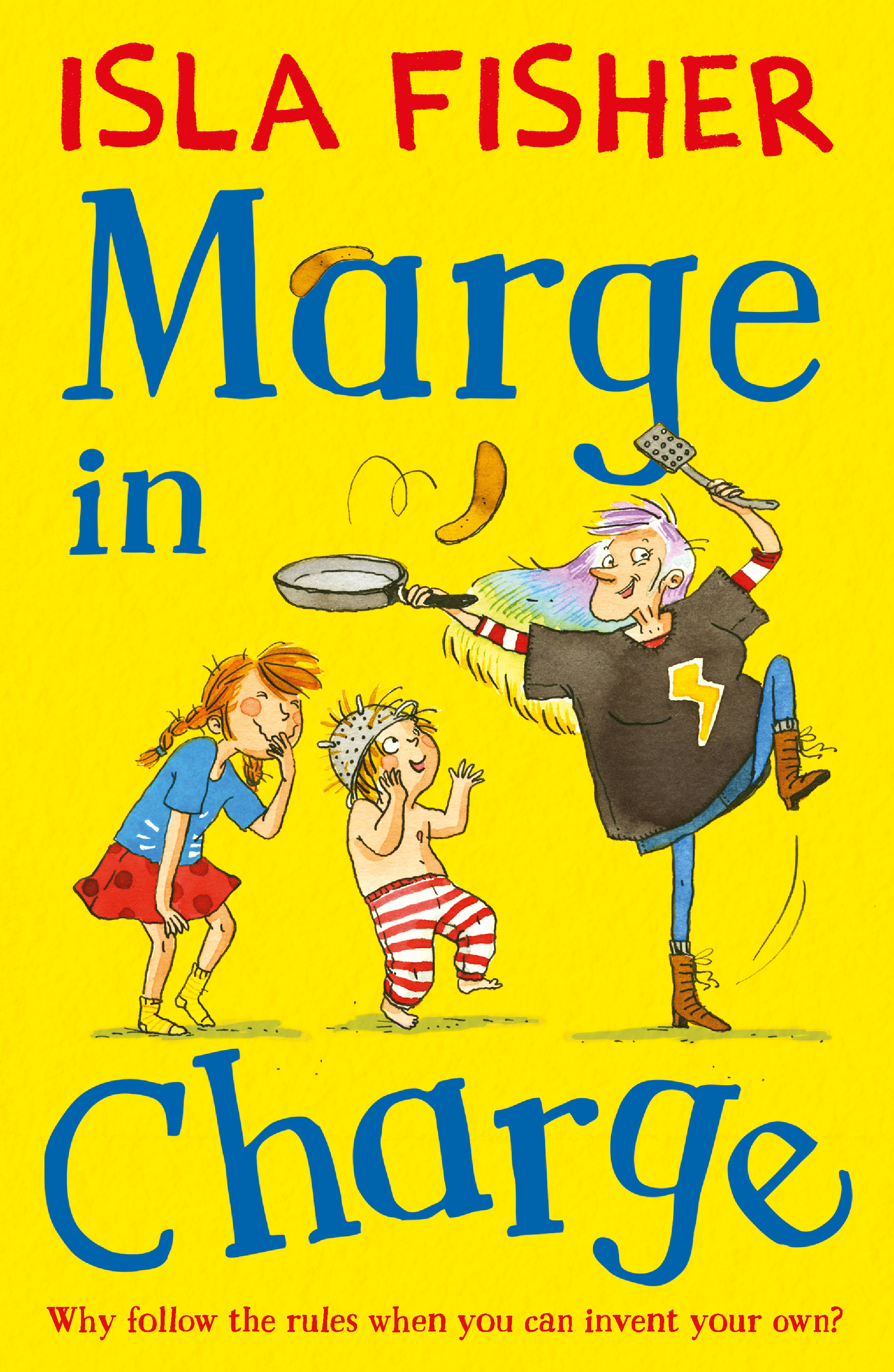 Marge in Charge by Isla Fisher, Illustrated By Eglantine Ceulemans, ISBN: 9781848125339