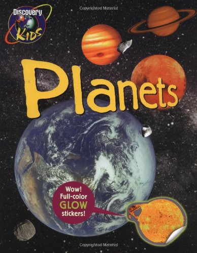 PLANETS, Glow-in-the-Dark Sticker Book (Glow in the Dark Sticker Books)
