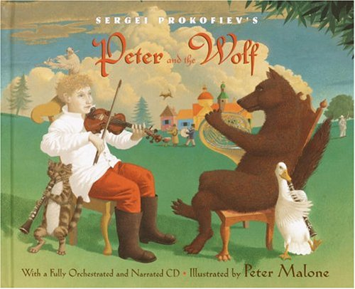 Sergei Prokofiev's Peter and the Wolf by Sergei Prokofiev, ISBN: 9780375924309