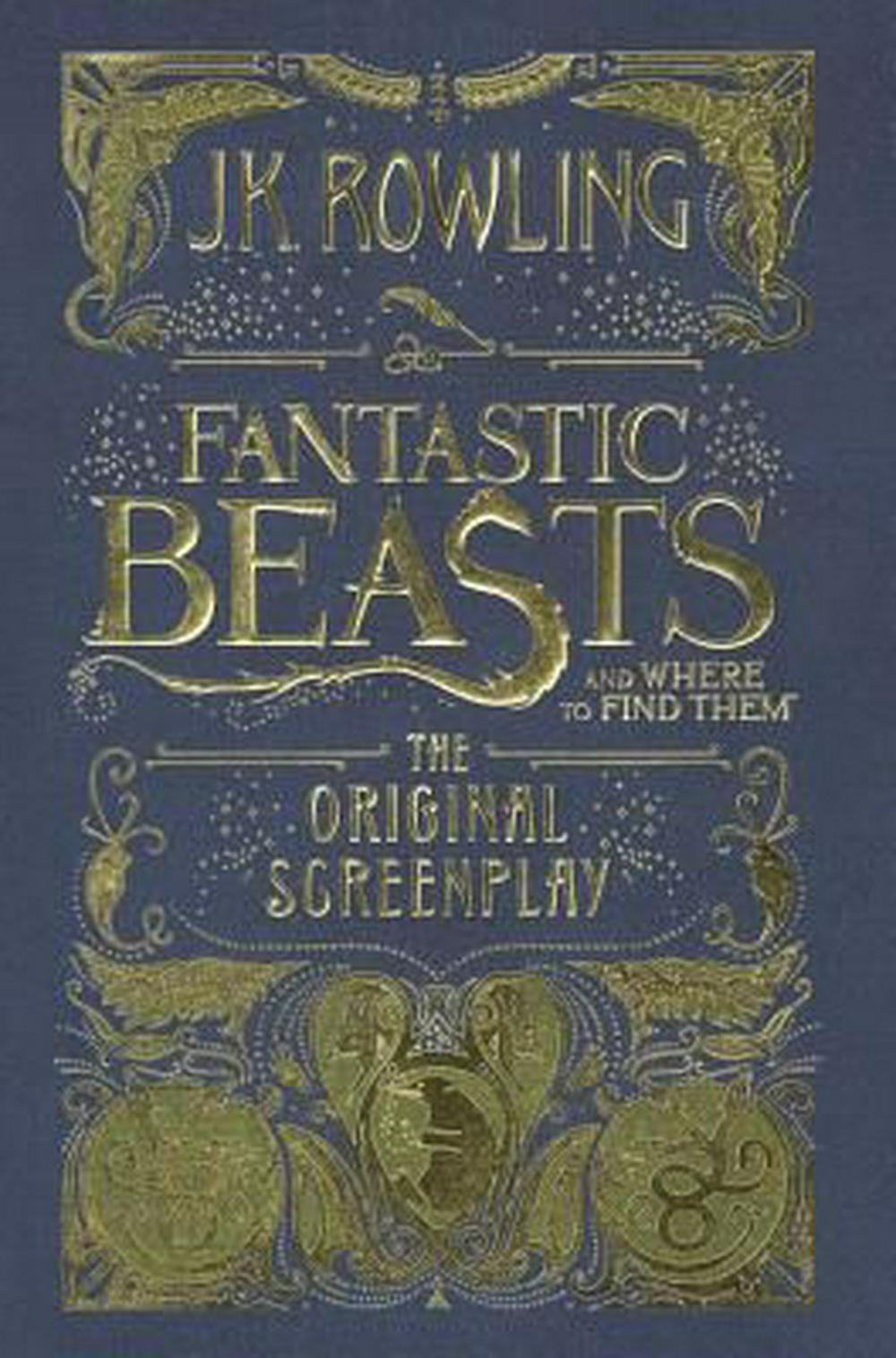 Fantastic Beasts and Where to Find Them: The Original Screenplay by J.K. Rowling, ISBN: 9780606396684