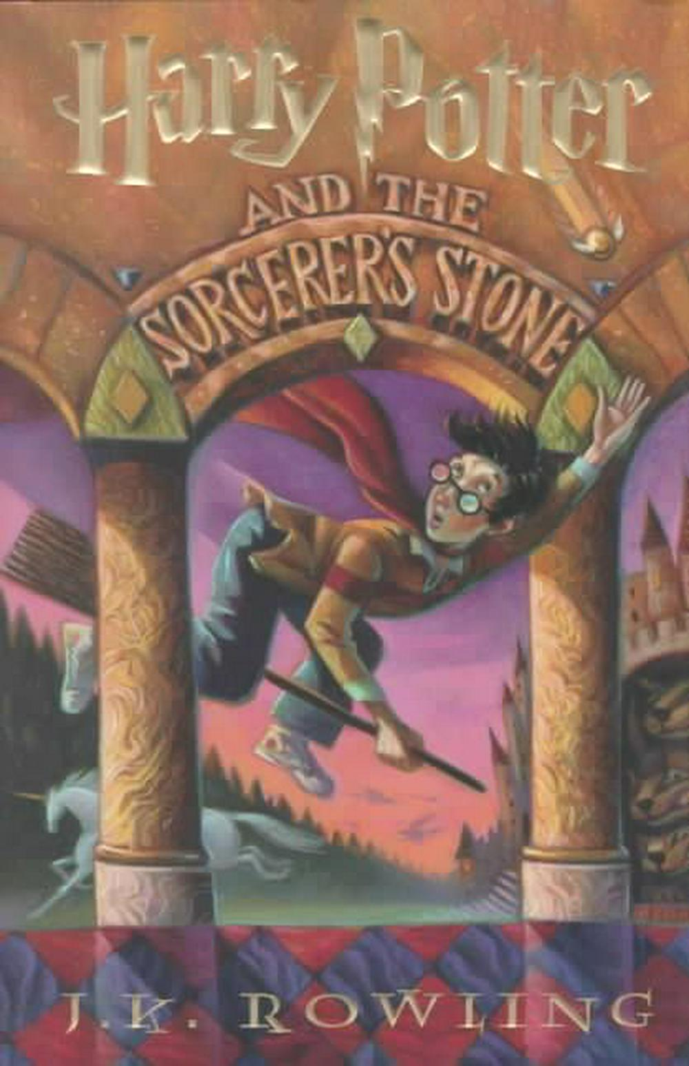 Cover Art for Harry Potter and the Sorcerer's Stone, ISBN: 9780786222728