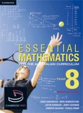 Essential Mathematics for the Australian Curriculum Year 8 and Cambridge HOTmaths Bundle