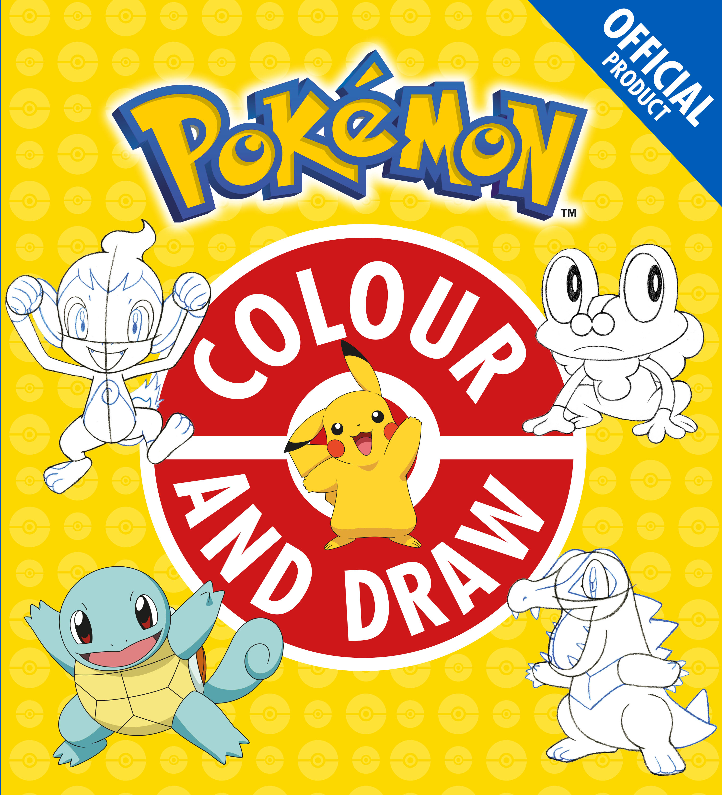 Pokemon Colour and DrawOfficial Product