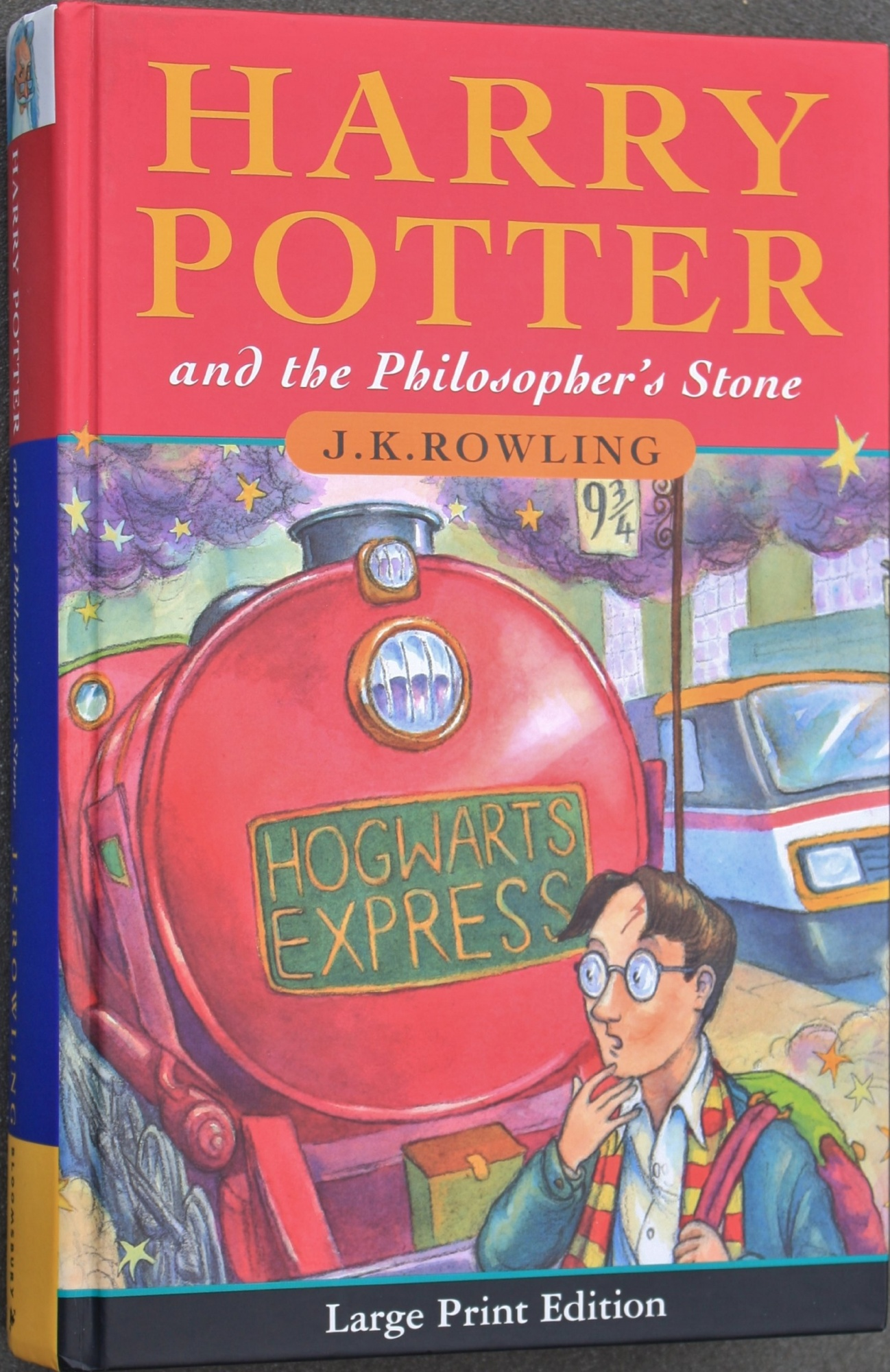 Harry Potter & the Philosopher's Stone (Large Print Edition)