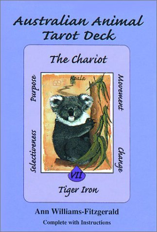 Australian Animal Tarot Deck by Ann Williams-Fitzgerald, ISBN: 9781572813236