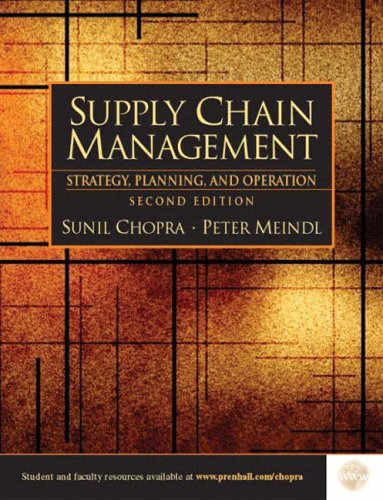 exercise of chapter 5 book supply chain mangement chopra Quizlet provides supply chain management chapter 5 activities, flashcards and games start learning today for free.