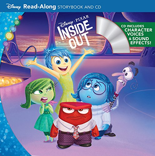 Inside Out Read-Along Storybook and CDDisney Storybook and CD
