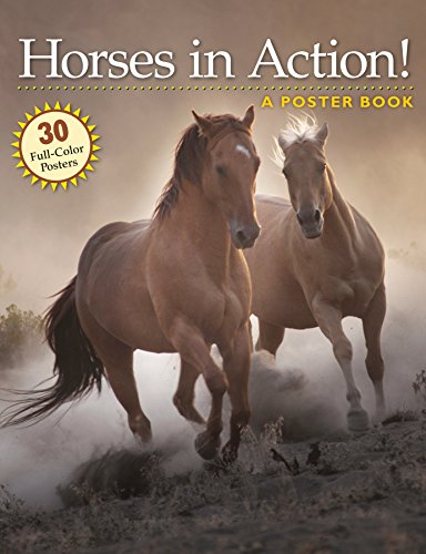 Horses in Action!: A Poster Book (Poster Books)