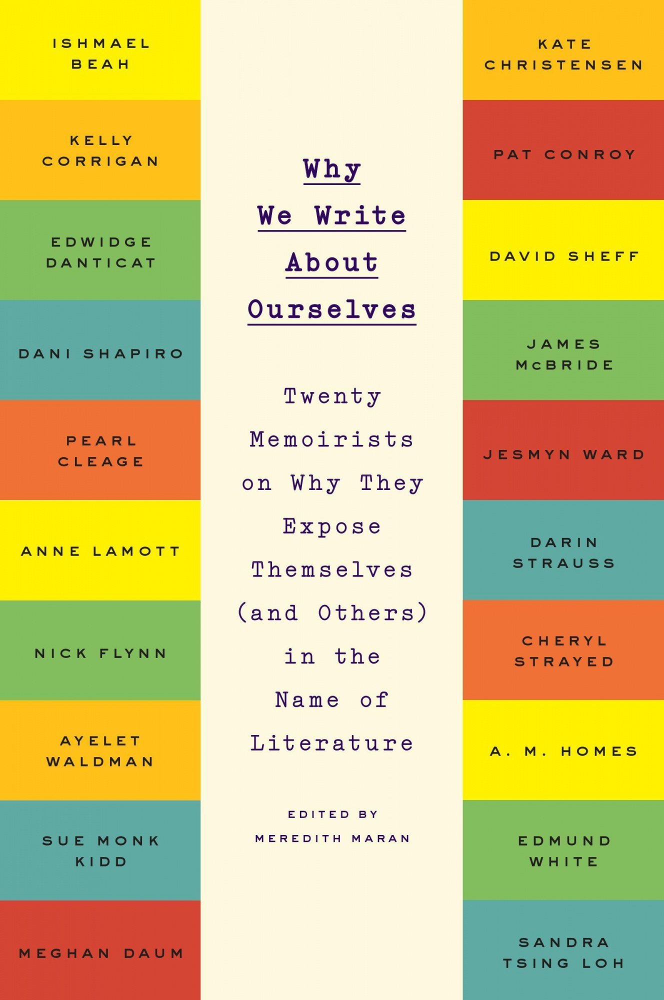 Why We Write about Ourselves: Twenty Memoirists on Why They Expose Themselves (and Others) in the Name of Literature by Meredith Maran, ISBN: 9780142181973