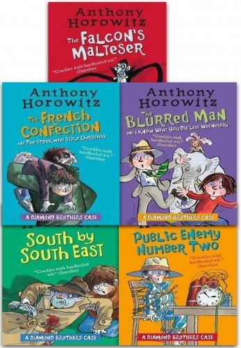 The Diamond Brothers Detective Agency Collection Anthony Horowitz 6 Books Set