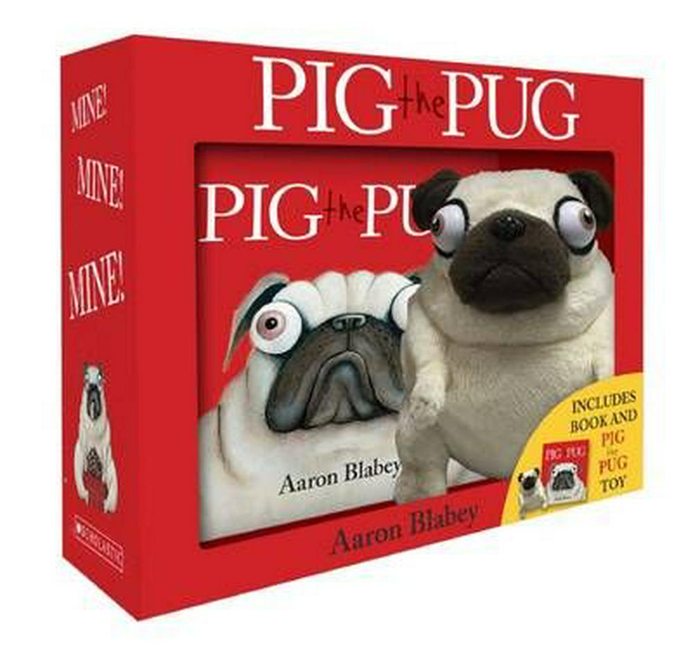 Pig the Pug Boxed Set (Mini Book + Plush)Pig the Pug