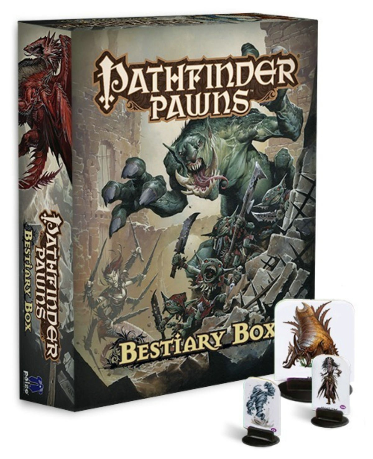 Pathfinder Pawns: Bestiary Box by Paizo Publishing, ISBN: 9781601255617