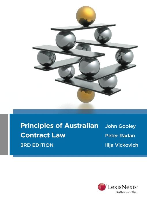 Principles of Australian contract law
